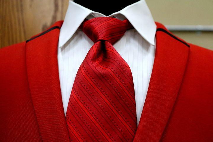 Plus beau avec une cravate